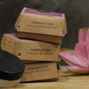 charcoal and gotmilk handmade soap