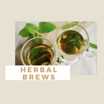 Herbal brews for period blues