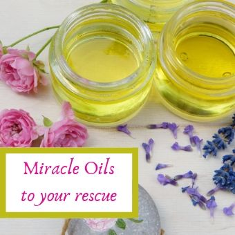 Miracle oils to soothe your tired body.